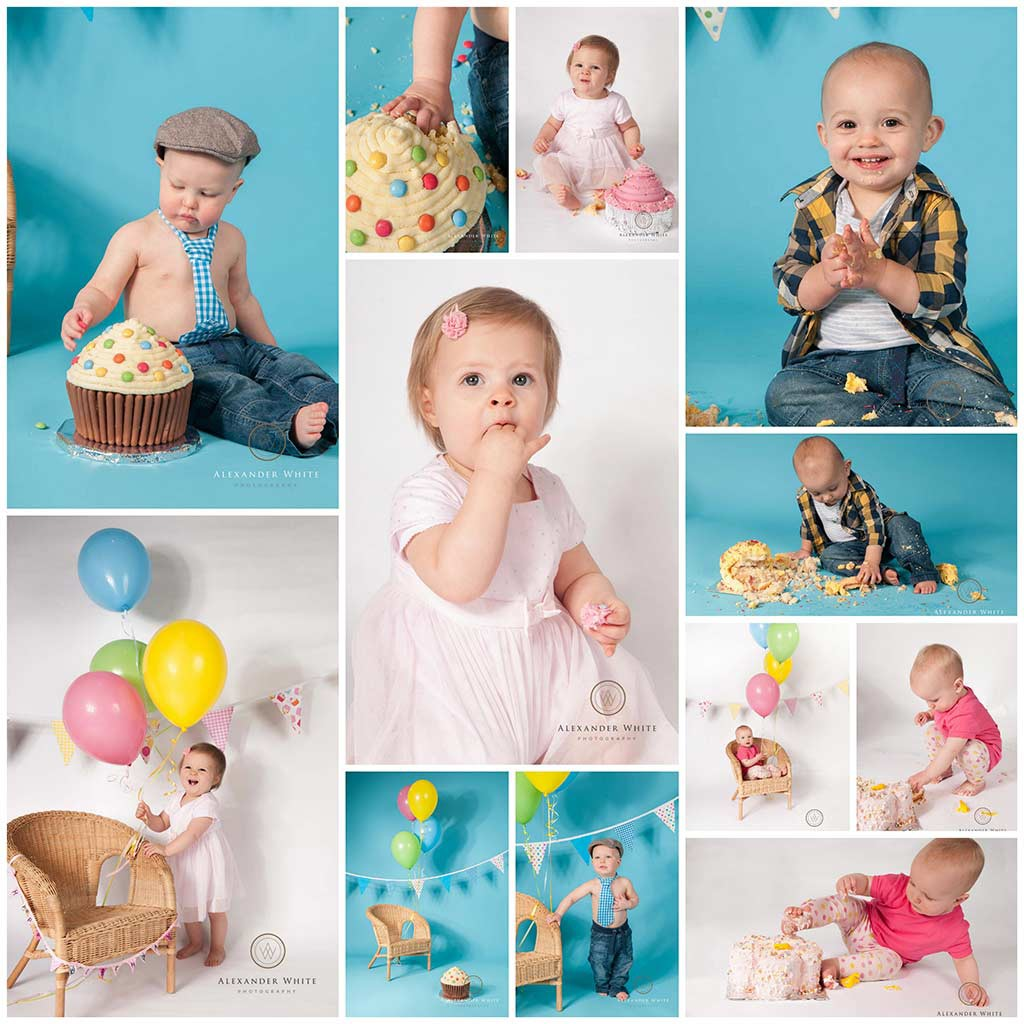 Cake smash photography in West Sussex Horsham Crawley Billingshurst Redhill and Haywards Heath (1)