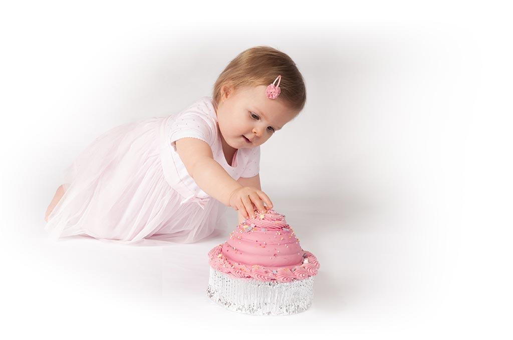 Girl Cake Smash