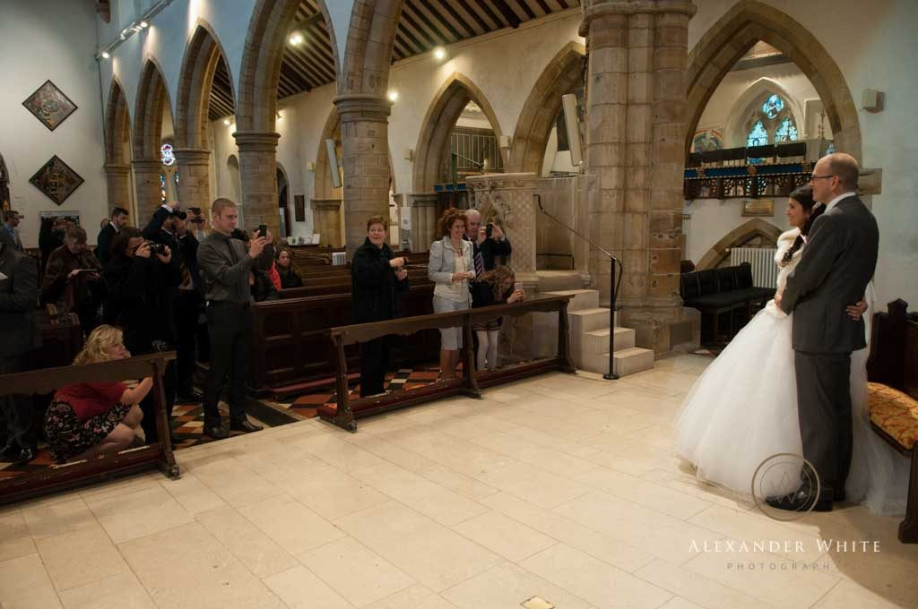Wedding photographer in West Sussex Horsham StMarys Church by Alexander White Phototgraphy (7)